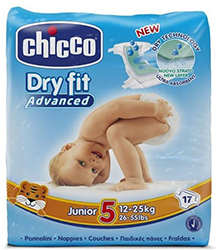 Chicco Pannolini Dry Fit varie taglie
