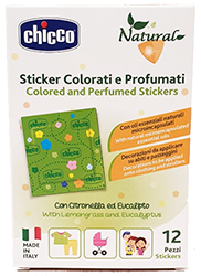 Chicco Sticker colorati e profumati  12 pz.