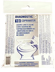 Copriwater usa e getta 10 pz.