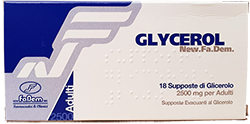 Glycerol supposte di glicerina 18 pezzi