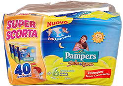 PAMPERS Sole e Luna Trio Pack varie taglie