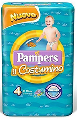 Pampers il costumino varie taglie